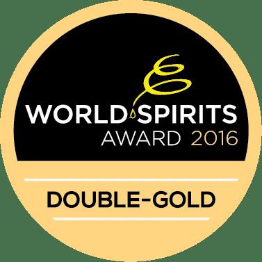 World Spirits Award 2016 Double-Gold