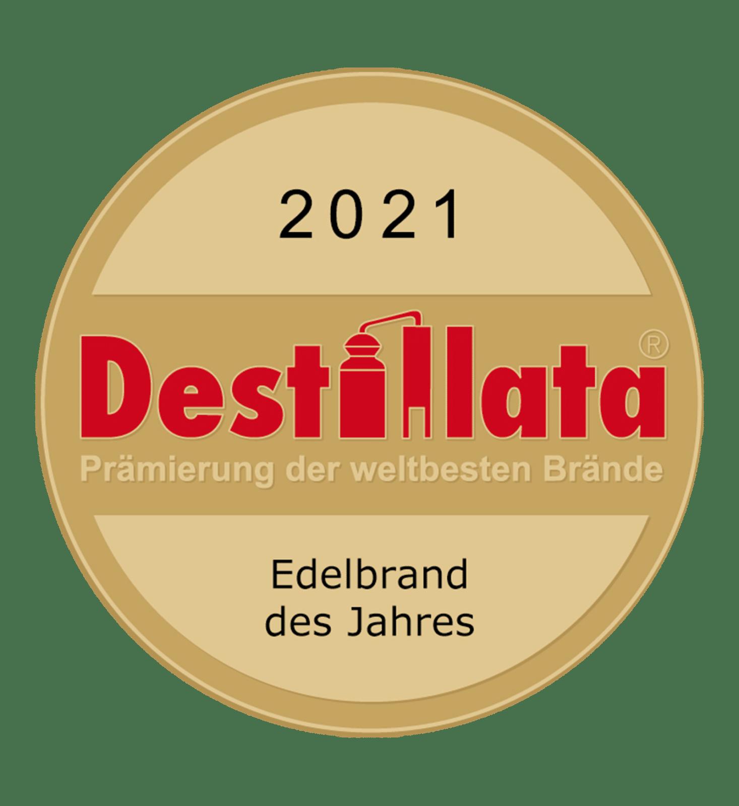 Destillata 2021 Edelbrand des Jahres